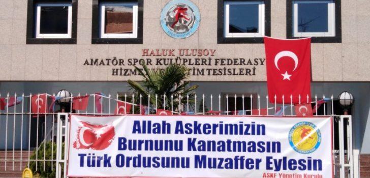 Trabzon ASKF'den Barış Pınarı operasyonuna destek