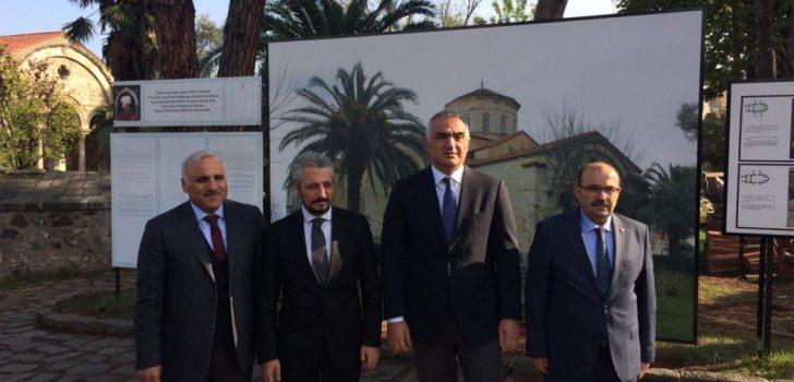 Bakan Ersoy Ayasofya'yı ziyaret etti