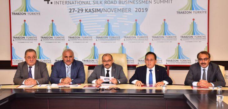 Trabzon'da düzenlenecek ipekyolu zirvesi, yüzlerce iş insanını buluşturacak
