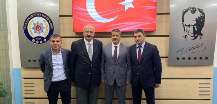Başkan Çebi Trabzon Emniyet Müdürünü Ziyaret Etti