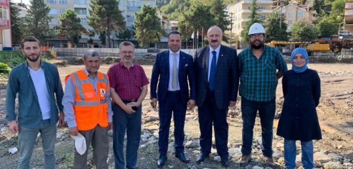 Yeni Hükümet Konağı ve Belediye Hizmet Binasının Yapımına Başlandı