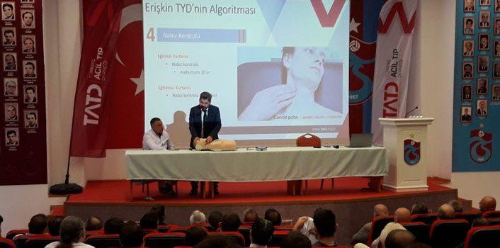 Trabzon'da sporcu sakatlıkları konuşuldu