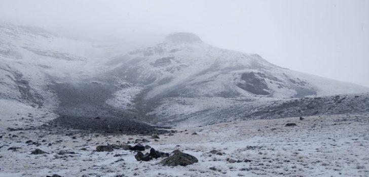 Trabzon ve Gümüşhane'ye kar düştü!