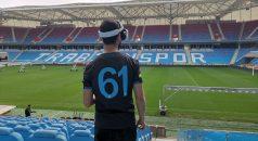 Turkcell'in 5G altyapısı ilk kez Trabzonspor stadında