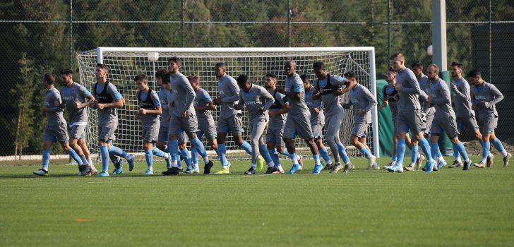 Trabzonspor'da MKE Ankaragücü maçı hazırlıkları