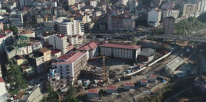 Trabzon'da o okul ve öğretmenevi tamamlanıyor