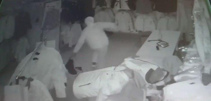 Trabzon'da hırsızlık – Alarmı böyle devre dışı bıraktılar…
