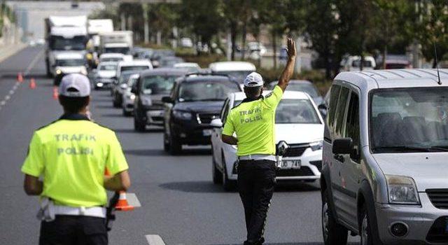 Trabzon'da sürücülere saatte 10 bin lira ceza!