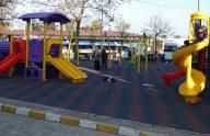 Trabzon'da çocuk parkları yenileniyor