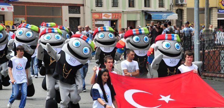 Hamsinin Trabzon'un maskotu olması için Büyükşehir Belediyesine başvuru