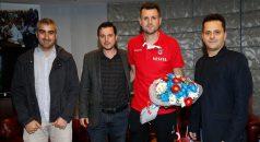 TSYD Trabzon Şubesi, Trabzonspor Teknik Direktörü Çimşir'i ziyaret etti