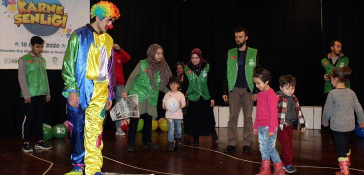 Trabzon'da yetim çocuklar için karne şenliği düzenlendi