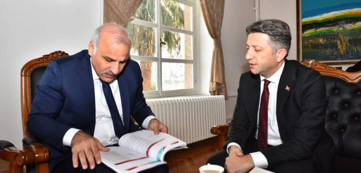 Başkan Zorluoğlu İl Kültür ve Turizm Müdürlüğü'nü ziyaret etti