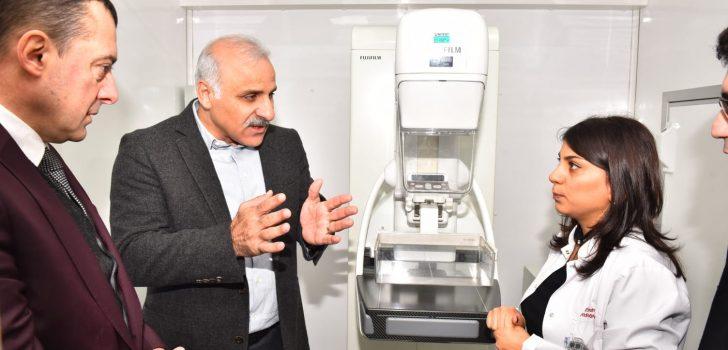 Trabzon'da 'Mobil Mamografi Aracı' Hizmete Girdi