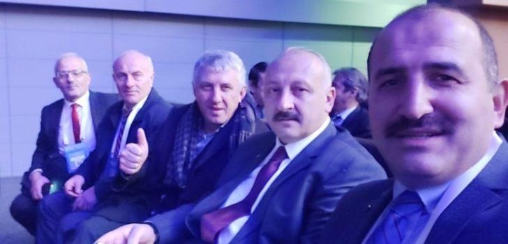 Başkan Çebi 'Akıllı Şehirler ve Belediyeler Kongre ve Sergisi'ne katıldı