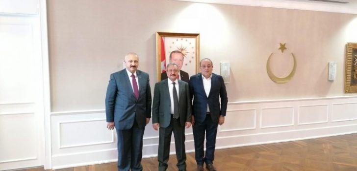 Başkan Çebi, Sağlık Bakan Yardımcısı ile Görüştü