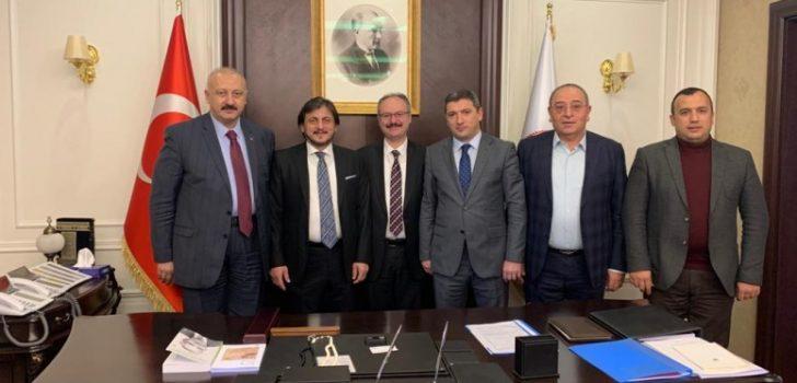 Başkan Çebi, Adalet Bakan Yardımcısı ile Görüştü