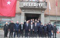 Büyükşehir Belediye Başkanı Zorluoğlu, Başkan Çebi'yi Ziyaret Etti