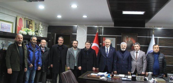 Trabzon Milletvekili Günnar Araklı'da