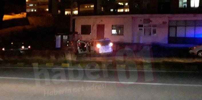 Trabzon'da araç kontrolden çıktı – 1 yaralı