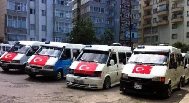 Trabzon'da dolmuşlar taksiye dönüştü!