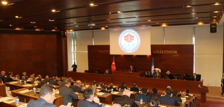 Büyükşehir Belediye Meclisi 2020 Yılı İlk Toplantısı Yapıldı