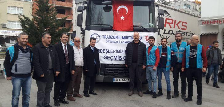 Trabzon Denetimli Serbestlik Müdürlüğünden depremde ölenler ve şehitler için Kur'an-ı Kerim