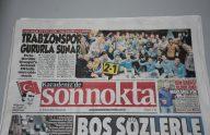 Trabzon yerel basınından şampiyonluk sesleri