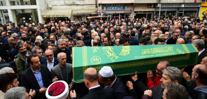 İçişleri Bakan Soylu, Trabzon'da cenaze törenine katıldı