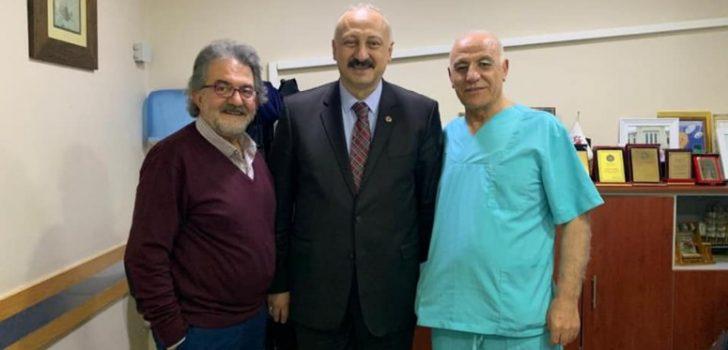 Başkan Çebi'den Yaşar Hastanesine Ziyaret