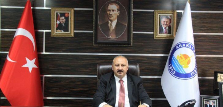 Başkan Çebi'nin 25 Şubat Araklı'nın Kurtuluşu Mesajı