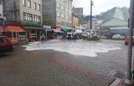 Trabzon'da koronavirüs için dezenfekte çalışmaları sürüyor