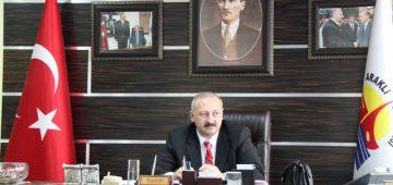 Başkan Çebi, başsağlığı mesajı yayınladı