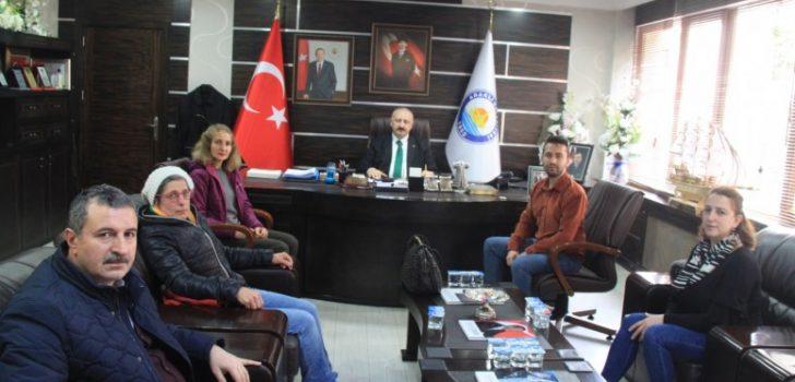 Trabzon Hayvanları Koruma Derneğinden Başkan Çebi'ye Teşekkür Ziyareti