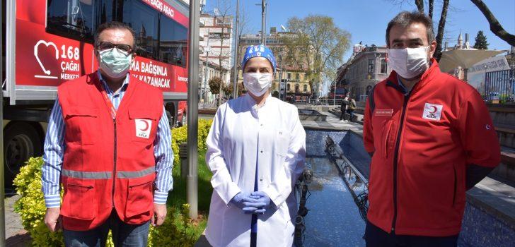 Koronavirüsü yenen müezzin, Trabzon'da immün plazma bağışçısı oldu