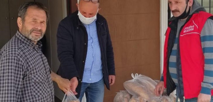 Trabzon'da vatandaşlara günde 18 bin ekmek dağıtılacak