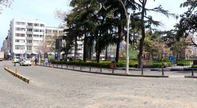 Trabzon sokağa çıkma kısıtlamasının ardından sokaklar boş kaldı