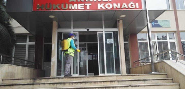 Trabzon ve Giresun'da koronavirüs tedbirleri