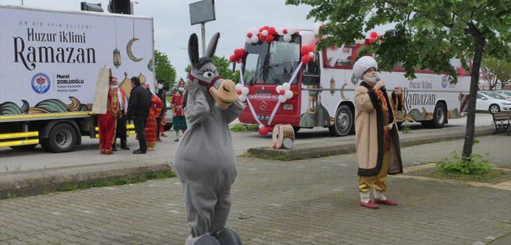 Trabzon Büyükşehir Belediyesinden mahallelerde ramazan etkinlikleri