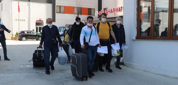 Trabzon'da karantina süresi dolan 161 kişi evlerine gönderildi