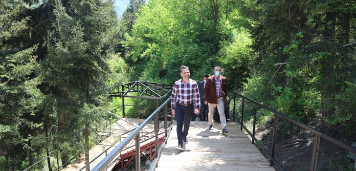 Turistlerin gözdesi Maçka macera tutkunlarına da ev sahipliği yapacak