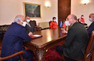 Trabzon Büyükşehir Belediye Başkanı Zorluoğlu, Tokyo Olimpiyatları'na hazırlanan sporcularla bir araya geldi