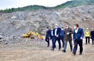 Büyükşehir Belediyesinin yeni tesisinde çalışmalar sürüyor