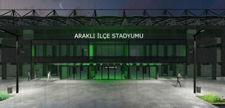 Araklı İlçe Stadyumunda Yeni Gelişmeler