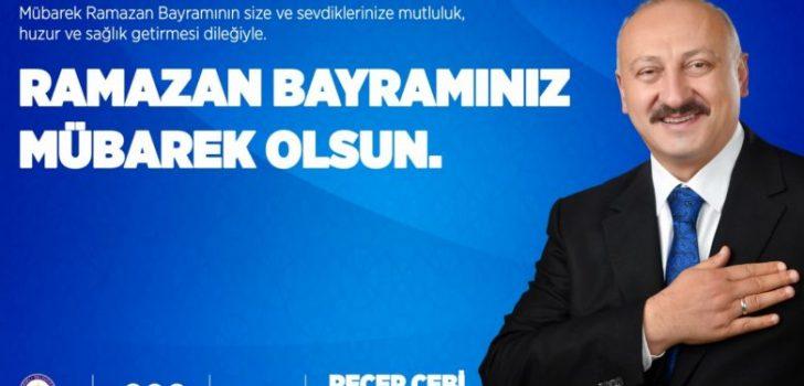 Başkan Çebi'nin Ramazan Bayramı Mesajı