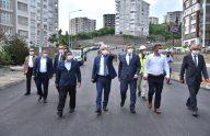 Büyükşehir Belediye Başkanı Zorluoğlu, Çukurçayır'da incelemelerde bulundu