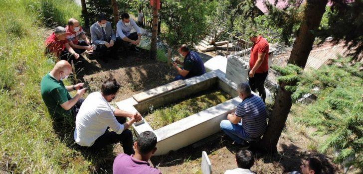 Araklı'daki selde hayatını kaybeden DSİ personeli Hasan Çakar anıldı