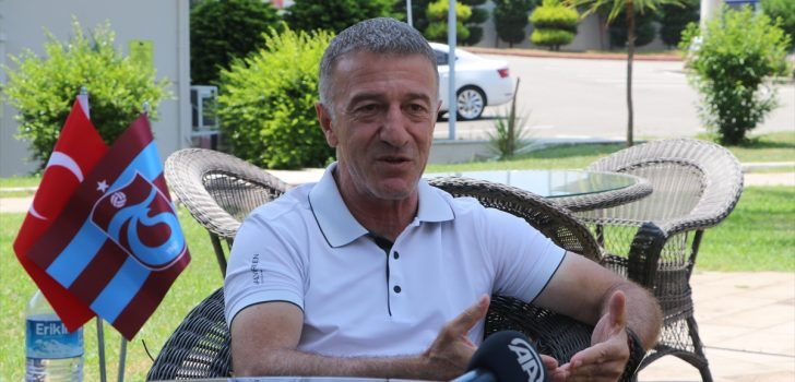 """Trabzonspor Kulübü Başkanı Ahmet Ağaoğlu: """"Provokasyonun içerisine çekilmeye çalışılıyoruz"""""""