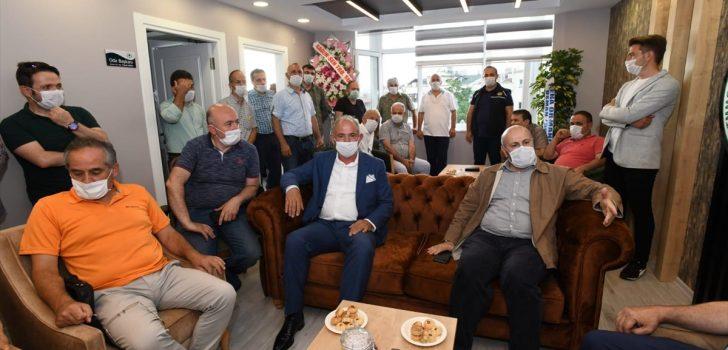 TMMOB Orman Mühendisleri Odası Doğu Karadeniz Şubesi'nin yeni hizmet binası açıldı