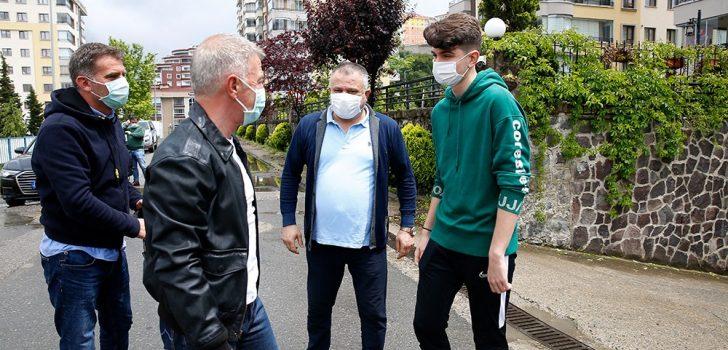 Trabzonspor'un genç kalecisi Kağan Moradaoğlu ameliyat edildi